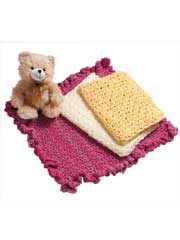 Beginner Baby Blankets crochet patterns