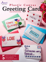 Plastic Canvas Greeting Cards