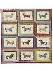 Hot Diggity Dog! Quilt Pattern