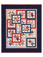 Layered Stars Quilt Pattern