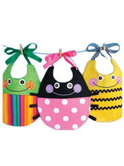 Cute Critters Bibs Sewing Pattern