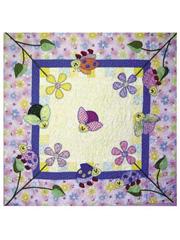 Ladybug Gardens Baby Quilt Pattern