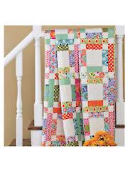 Grandma Mary's Five-Patch Quilt Pattern