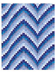Blues Bargello Pattern