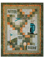 Gone Golfing Quilt Pattern