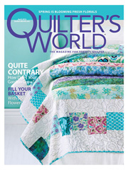 Quilter's World April 2012