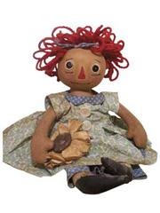 Sunflower Annie Doll Sewing Pattern