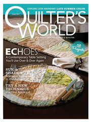 Quilter's World August 2012