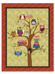 Life's a Hoot Wall Hanging Pattern