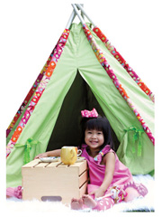 Tee Pee Tent Sewing Pattern