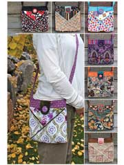 Cross Pocket Bag Sewing Pattern