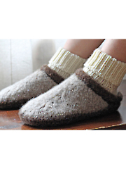 Clog-n-Soc Knit Pattern