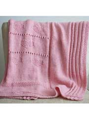 Sweetheart Baby Blanket Knit Pattern