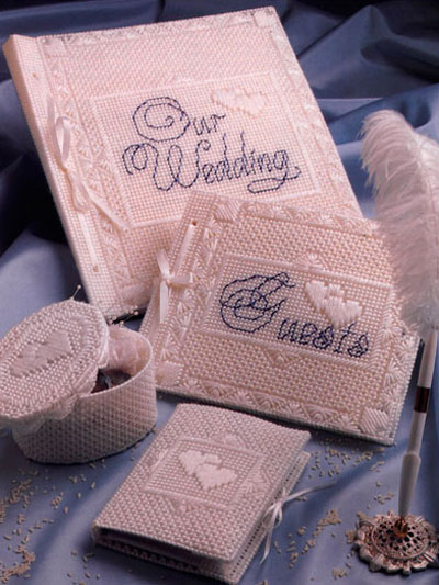 Wedding Decor in Plastic Canvas