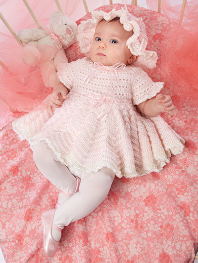 Crochet a Dress for Baby