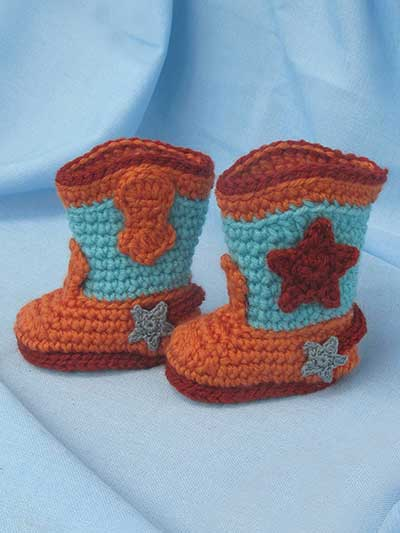 Rock A Billy Baby Boots