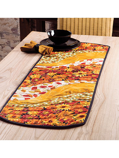 Ez Breezy Quilt As You Go Table Runner Place Mat Pattern