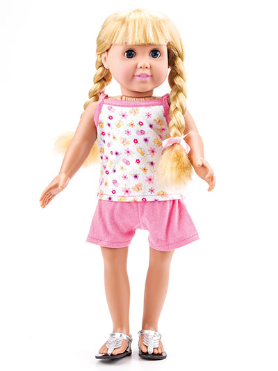 Sleepover Party - Sleepwear for 18-Inch Dolls - Sewing Patterns