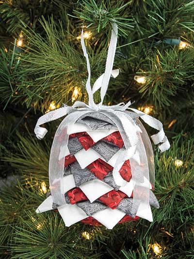 Silver Bells No-Sew Ornament Pattern