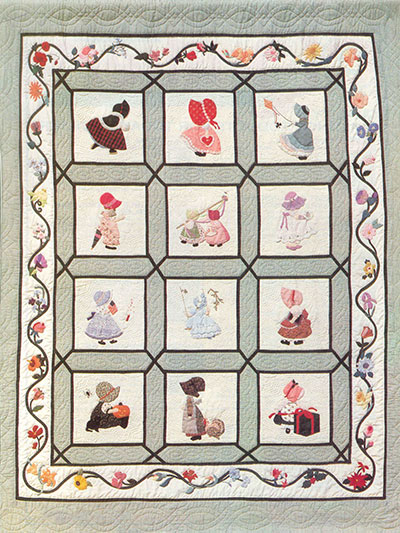 Quilt Patterns OutofPrint Patterns Sunbonnet Sue Quilt Special Stunning Sunbonnet Sue Patterns