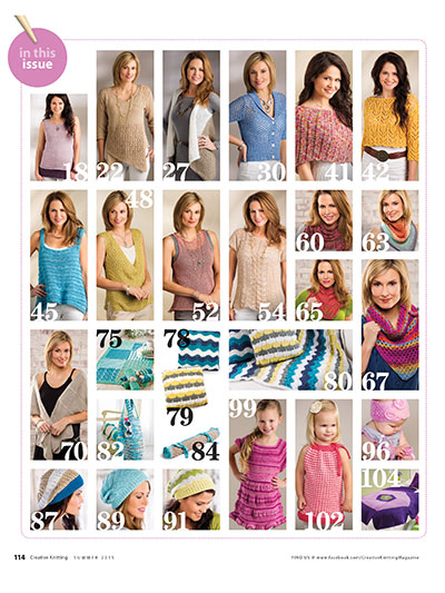 Patterns to knit for the summer