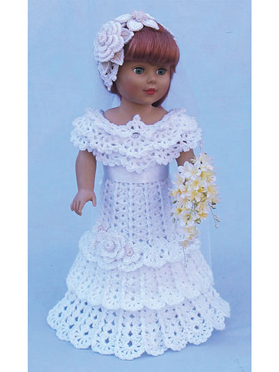 Paid and Free Crochet Patterns for 18-inch Dolls Like the American ...