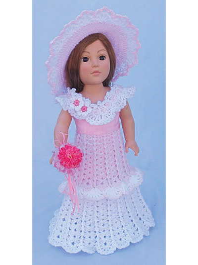 Bridal Party for 18-Inch Dolls Crochet Patterns