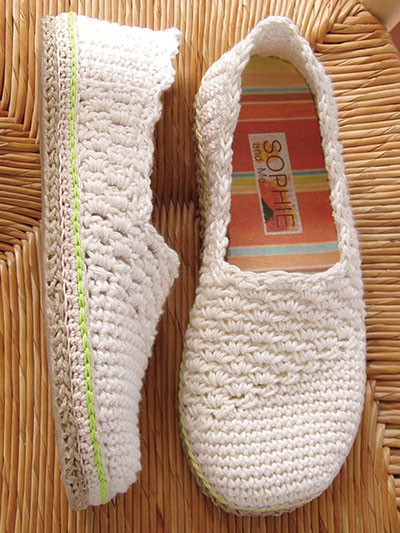 Crochet a Pair of Shoes for Summer Crochet Pattern
