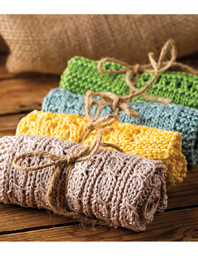 Simply Knit Washcloths patterns