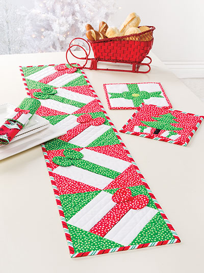 Christmas All Through the House Table Runner Pattern to Make