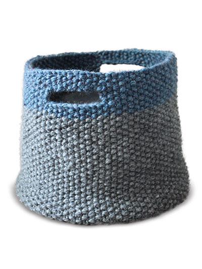 Triplet Baskets Knit Pattern