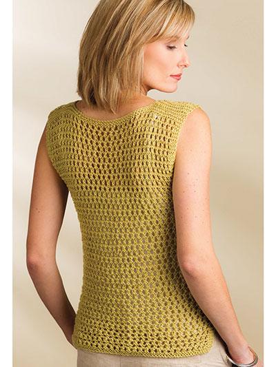 Knitting Patterns Supplies Indus Tank Top Knit Pattern