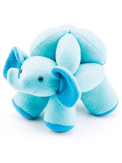 Animal Puzzle Balls Sewing pattern elephant