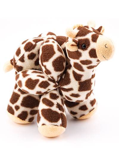 Animal Puzzle Balls Sewing Pattern Giraffe