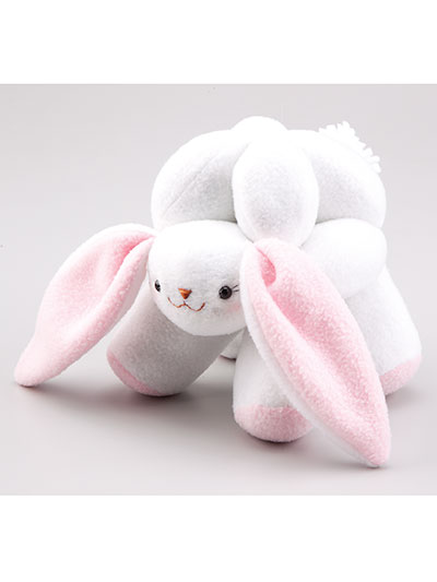 Animal Puzzle Balls Sewing Pattern Bunny