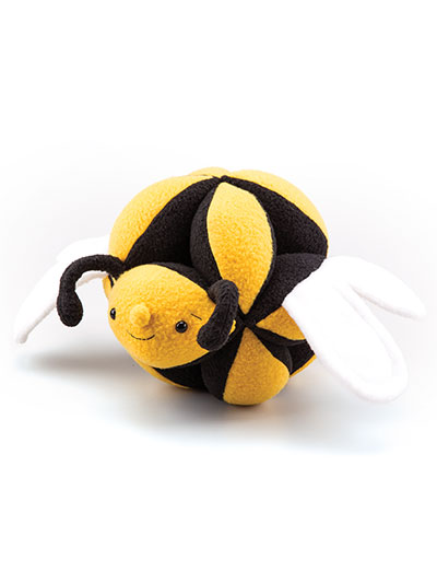 Animal Puzzle Balls Sewing Pattern Bumblebee