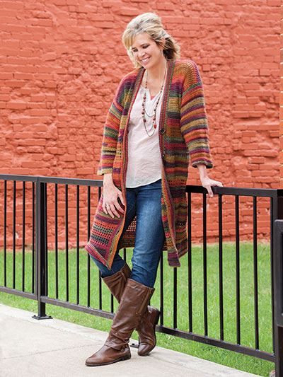 Plus Size Crochet Patterns No Seams Cardigan Crochet Pattern