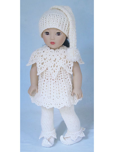 Santa's Lit'l Elves Crochet Pattern for 18-inch dolls like American Girl Dolls