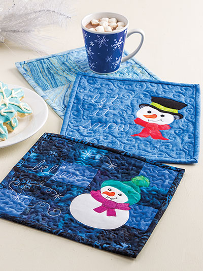 Quilt Pattern Books - Learn to Make Quilted Mug Rugs : quilted rugs - Adamdwight.com