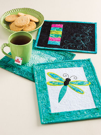 Quilt Pattern Books - Learn to Make Quilted Mug Rugs : quilt rugs - Adamdwight.com