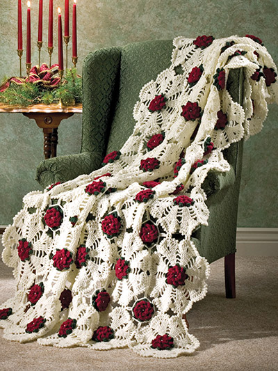 Crochet Patterns Out Of Print Patterns Christmas Afghans
