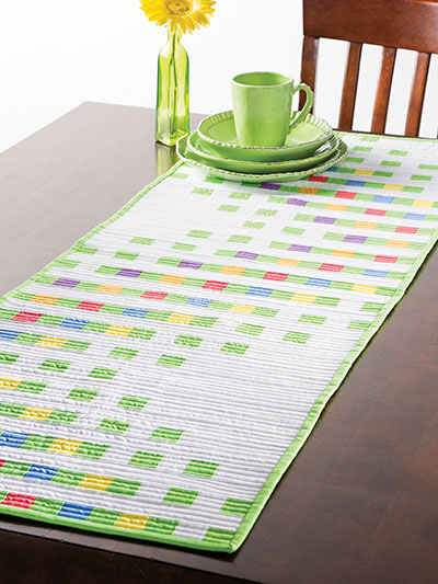 Bargello Quilts & Beyond Table Runner