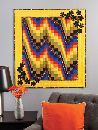 Bargello Quilts & Beyond wall quilt