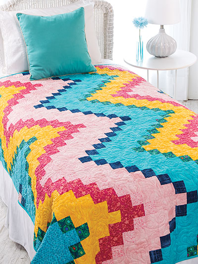 Bargello Quilts & Beyond colorful quilt patterns for beds