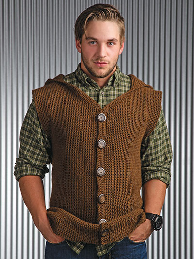 Crochet! Winter 2015 crochet a man's sweater pattern