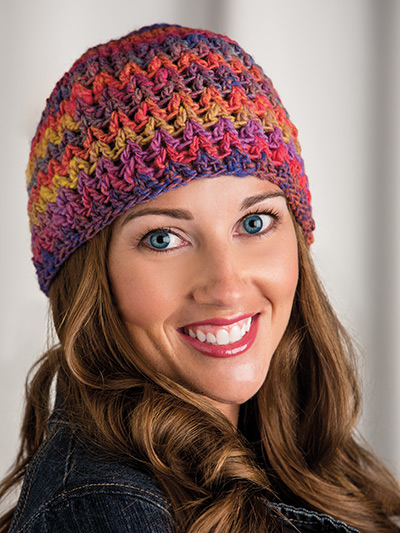Crochet! Winter 2015 Easy hat to crochet