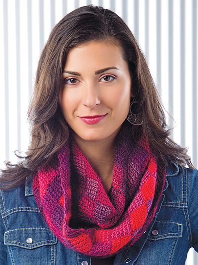 Crochet! Winter 2015 easy infinity scarf crochet pattern
