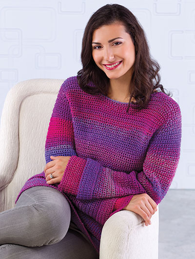 Crochet a Pullover Sweater