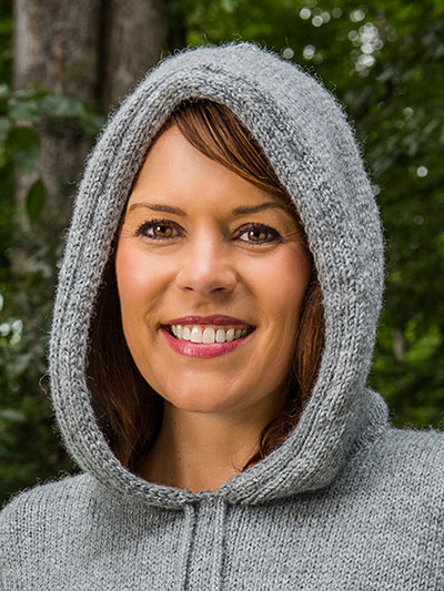 New Knitting Patterns Boulder Top Down Hoodie Knit Pattern