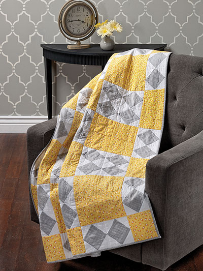 Quick and Easy quilting patterns diamonds and squares